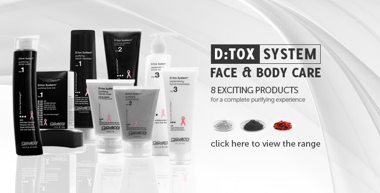 d:tox system face and body care